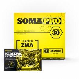 Soma Pro ZMA (30 Cápsulas) + Kimera Gun (5 unidades - 8,5g)
