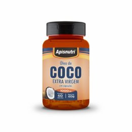 Óleo de Coco Extra Virgem 1000mg (60 Caps)