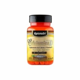 Calciomina D (Cálcio + Vitamina D - 400mg) 60 caps