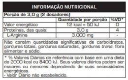 TABELA NUTRICONAL ARGIPURE
